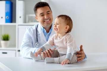 Dziecko u ortopedy - zdjęcie partnera