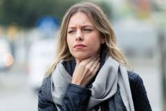 Ból gardła - zdjęcie partnera
