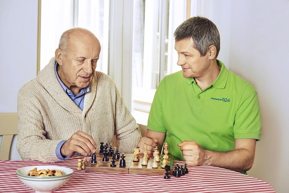 Starszych osób atywizacja - zdjęcie partnera