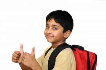 dziecko z plecakiem, Arvind Balaraman / www.freedigitalphotos.net