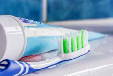 Toothbrush And Toothpaste by Mister GC/www.freedigitalphotos.net