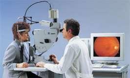 Badanie dna oka - zdjęcie partnera