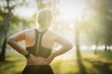 Ból kręgosłupa - zdjęcie partnera