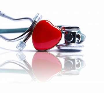 Stetoskop na stole - zdjęcie partnera