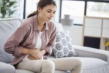 Ból brzucha - zdjęcie partnera