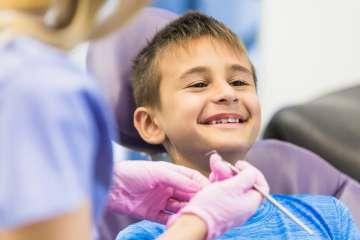 Dziecko u dentysty - zdjęcie partnera