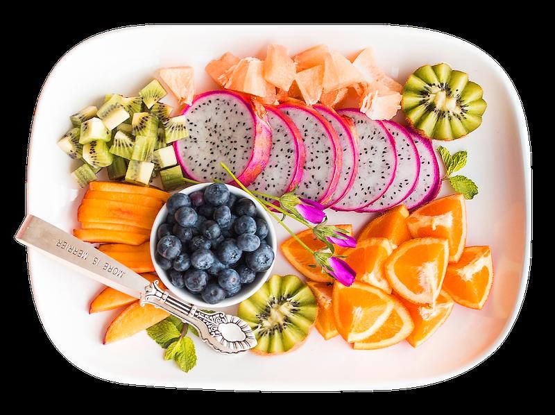 Zdrowe danie na talerzu - zdjęcie partnera