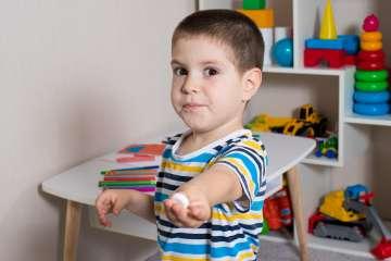 Dziecko w pokoju zabaw - zdjęcie partnera