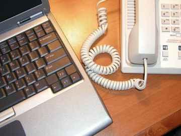 Computer & Phone - freerangestock.com
