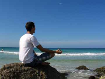 Beach mediation - freerangestock.com