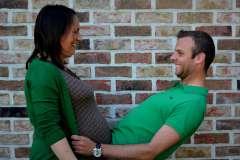 Ciąża - zdjęcie partnera