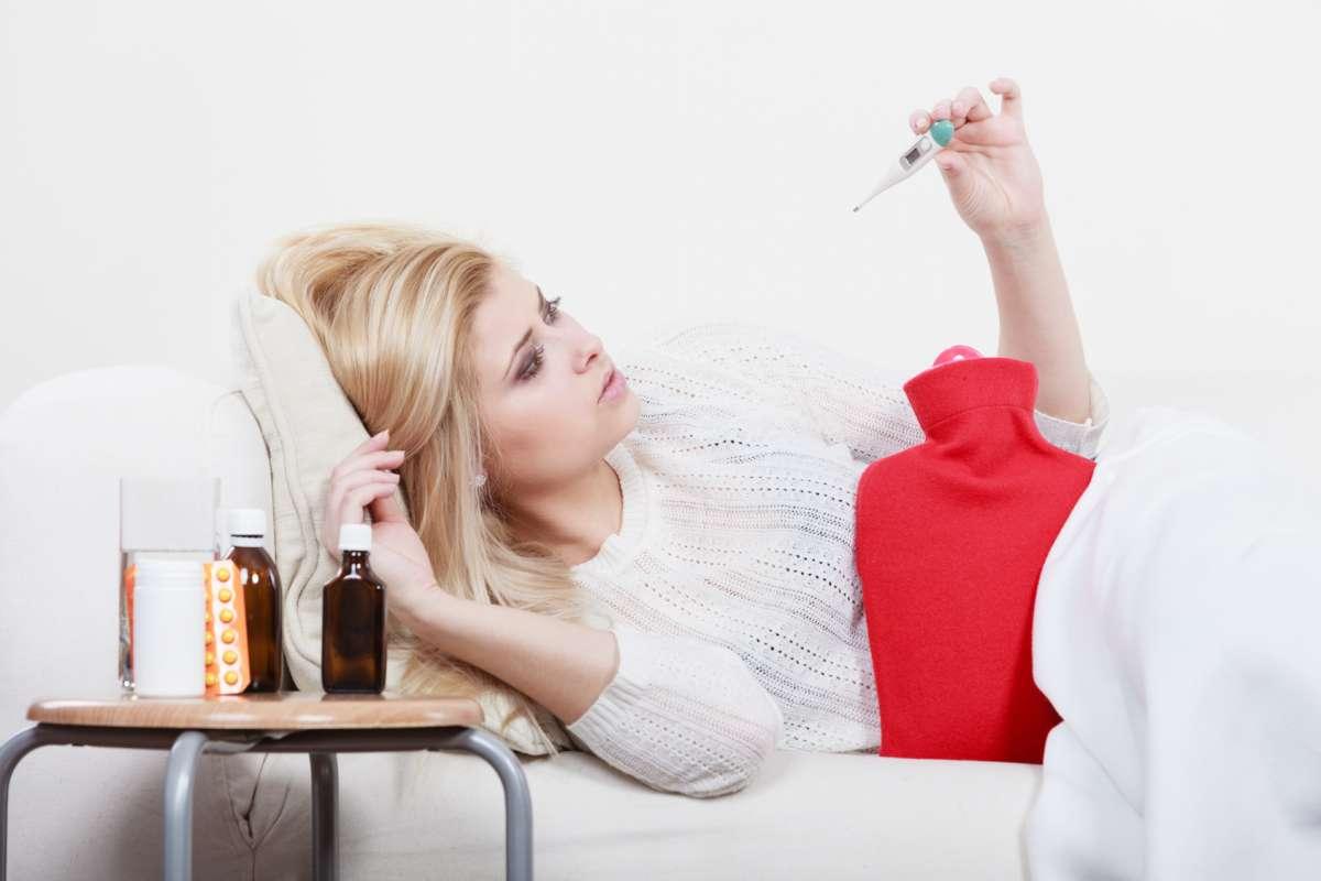 Przeziębienie - zdjęcie partnera