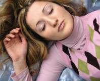 Kobieta śpi - zdjęcie partnera